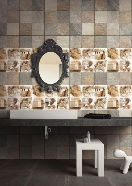 Bathroom Tiles, Water-Repellent Tiles, Joint-Free