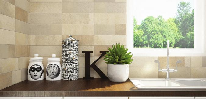 All four colors are offered in a Brilliant (polished) and Natural finish, and offered in a 4¼x12¾ wall tile.