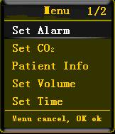 5.1 Setting Alarm The monitor alarm function will be affected by environmental light, EMC, noise, etc.