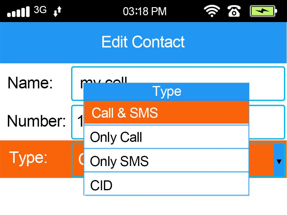 Adding/Removing Contact Phone Numbers (cont.) Note: When programming your phone number(s) into the system, we recommend including the country code and the area code. The country code for the US is 1.