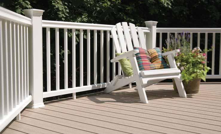 More design possibilities mix and match numerous color choices TimberTech does more than create beautiful decking.