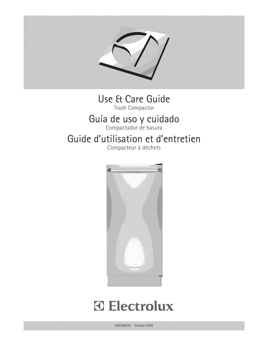 Use & Care Guide Trash Compactor Gu[a de uso y cuidado Compactador