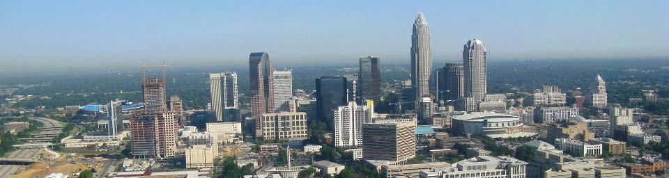 Charlotte s Vision Livable city Vibrant economy Thriving natural environment Diverse population Choices for housing, education, employment Safe & attractive neighborhoods Citizen involvement