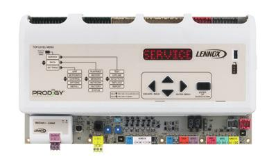 6 EER 3- to 24-ton gas/electric and electric/electric configurations Industry-leading Prodigy Unit Controller with SmartWire system provides fast, accurate setup and simplified operation MSAV supply