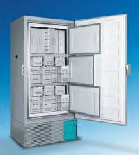 Low noise levels The cabinet and cooling system are designed to minimize noise, so the ULT freezers can be placed in laboratories or hospitals without disturbing operators.