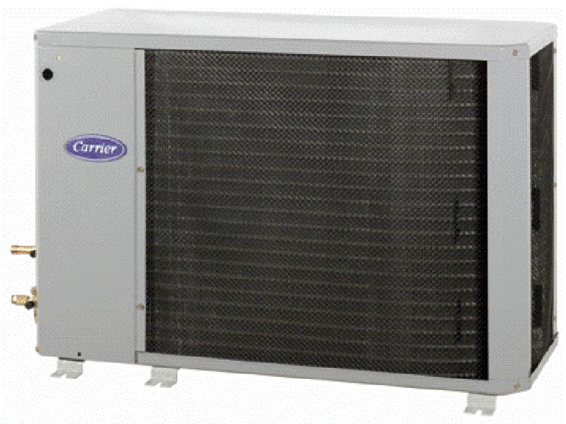 Performancet Series Heat Pump with Puronr Refrigerant 1 --- 1/2 to 5 Nominal Tons Product Data the environmentally sound refrigerant Carrier Heat Pumps with Puronr refrigerant provide a collection of