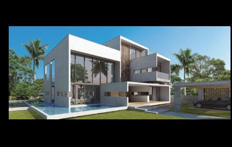 5 BHK villas Double-height in living rooms Contemporary design with floating plinth Personal swimming pool, gymnasium and home theatre (optional) Serene landscaping Disney themed bedrooms (optional)