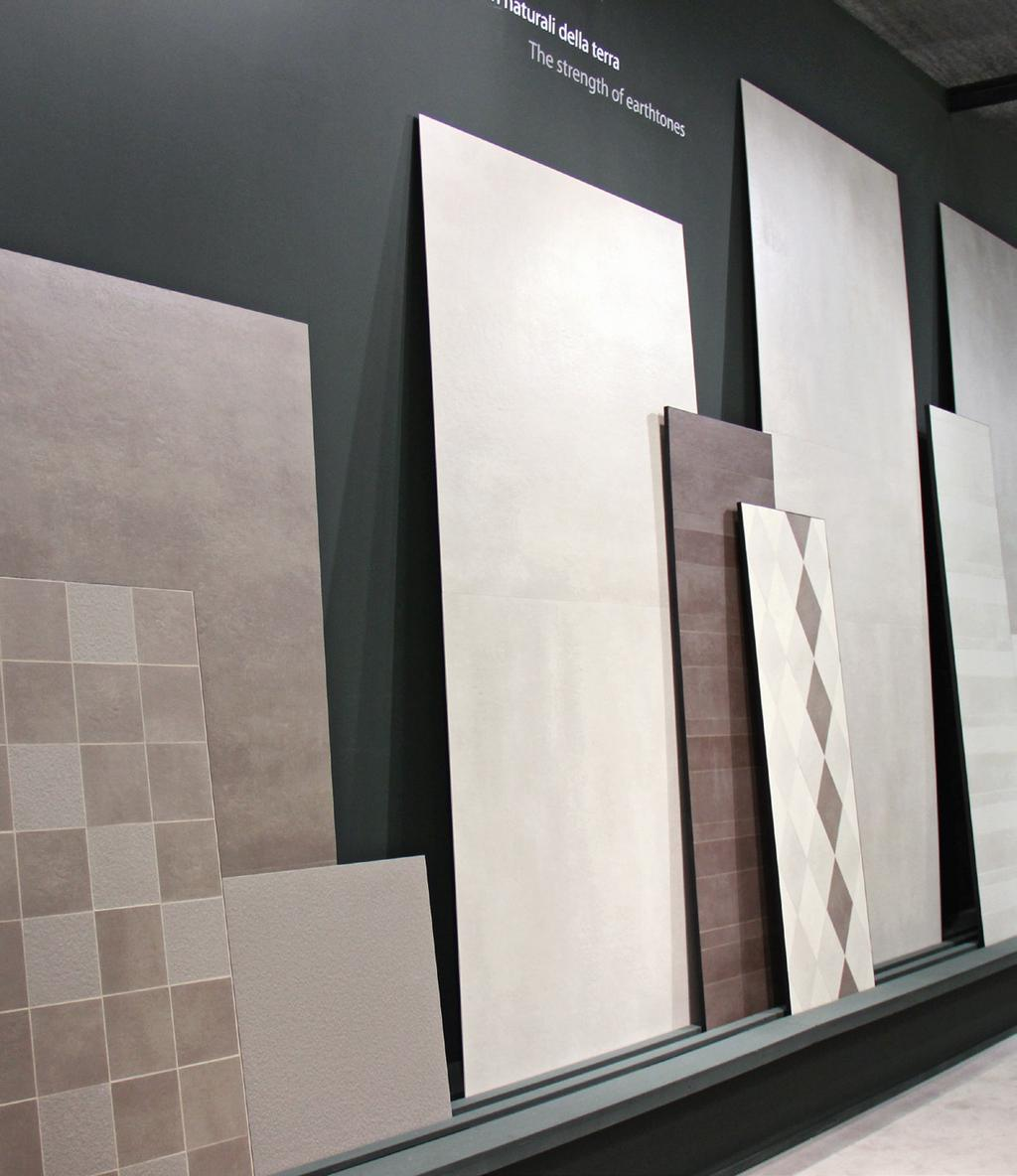 Large-format panels: an Italian-led revolution The spread of large-format tiles and panels seems to be unstoppable.