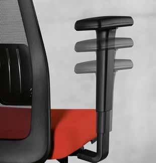 Particularly large opening angle: The recline option of the backrest, with autolift system, ensures comfort and relaxation.