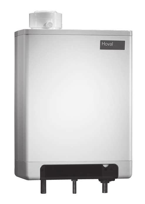 Part No. Wall-hanging gas condensing boiler Hoval opgas classic (12,18,24) Part No.