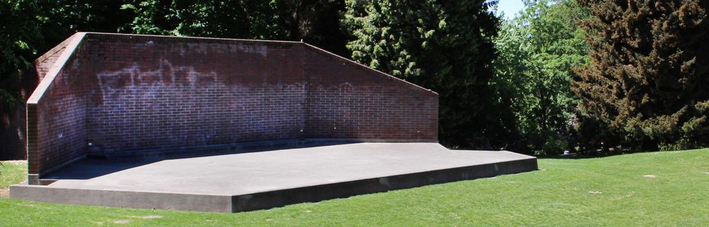 Volunteer Park Trust is launching a $3 million campaign to replace our aging amphitheater For over 100 years, artists have entertained and inspired through performances in this same location on the