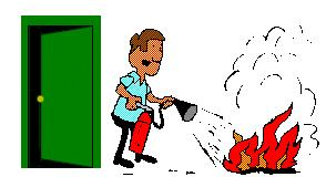 Do not fight the fire if: You don t have adequate or appropriate equipment. If you don t have the correct type of extinguisher or one that isn t large enough, it is best not to try fighting the fire.