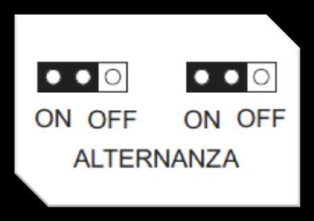 7.2 Alternating operation mode The DRENA 2 panel can be used with an automatic switching module to change between motors on each activation, or with a direct on/off command.