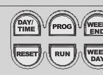 Reset Key (Escape Program Mode) Press the RESET button if you wish to quit while making changes to Program Operation Settings (WAKE, DAY, EVE and SLEEP).