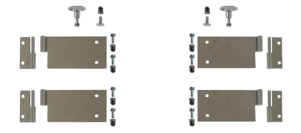 Door Hardware Kits Individual Component Breakdown 1 2 3 4 2 3 5 6 7 8 Complete Left Hand Door Hardware Kit (P/N 47054) (contains all parts shown above) Complete Right Hand Door Hardware Kit (P/N