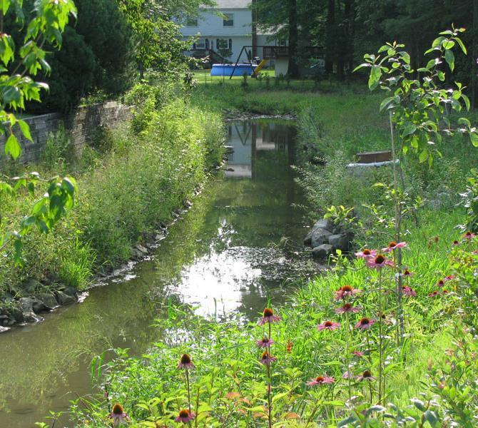 Benefits: Kellogg Creek Restoration, Lake County, Ohio - 2200 Lineal Feet of Stream Restoration - 1-2 Foot Flood Elevation Reduction - Reduced peak discharges by 25% - Removed 5 structures from