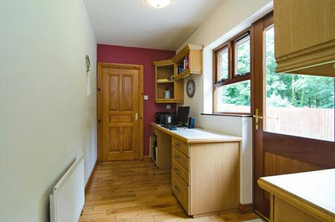 "voltage spotlighting, built-in wine rack, CASUAL BREAKFAST AREA. STUDY: 11' 4"" x 5' 5"" (3.45m x 1."