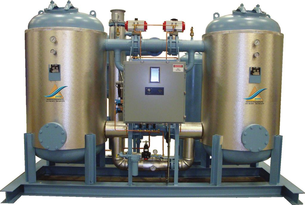 World Leader in Regenerative Dryer Technology LOW PRESSURE DROP EASE OF MAINTENANCE Complete system designed to keep pressure drop low.