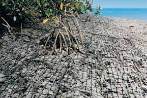 Applications Triton Gabion Mats are used for: Channel linings, ditches and spillways Scour aprons Triton Gabions and Gabion Mats are frequently specified for use where there is high potential for