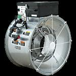 result in fire risk Downstream heating More energy efficient Doesn t expose the motor/blade of the fan