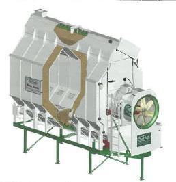 Single fan batch or continuous 300 to 1,100 bu/hr for 5% removal Dual fan batch or continuous 1,500 to 2,500 bu/hr for 5%