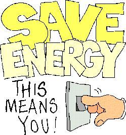 How Can U Conserve Energy?