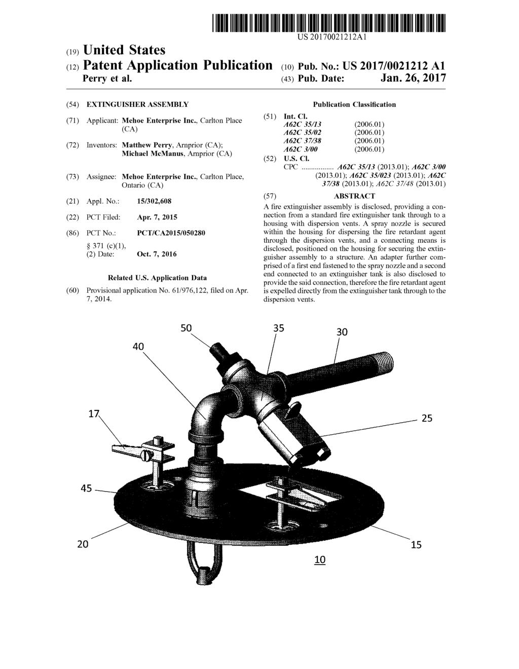 (19) United States (12) Patent Application Publication (10) Pub. No.: US 2017/0021212 A1 Perry et al. US 20170021212A1 (43) Pub. Date: Jan.