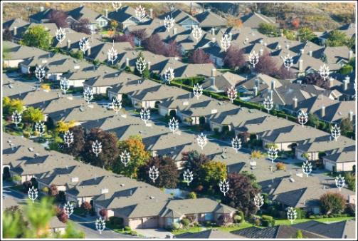 Over the past 60 years, most cities in North America have developed in a more or less uniform pattern: suburban sprawl.