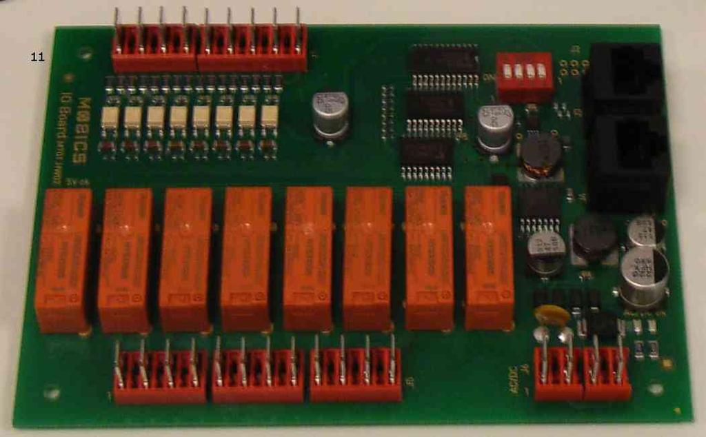 9.5) Install I/O expansion board(s) option The I/O expansion board kit is supplied with the following parts: 11.