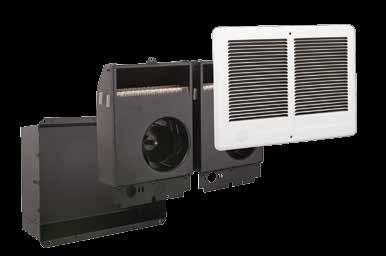 Com-Pak In-Wall Twin* Wall Insert Heater Heater