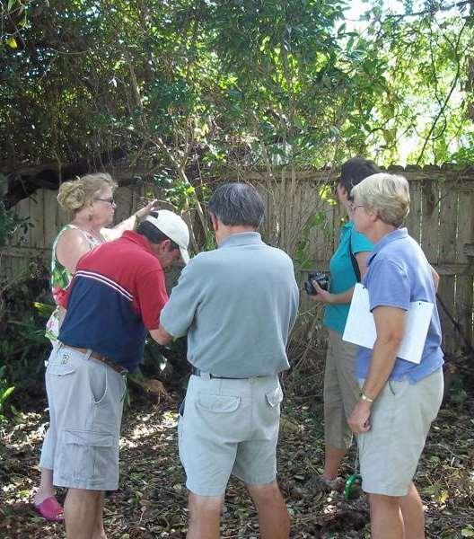 Continuing Education: Summer - Fall Garden Visits Diagnostic Skills State and national