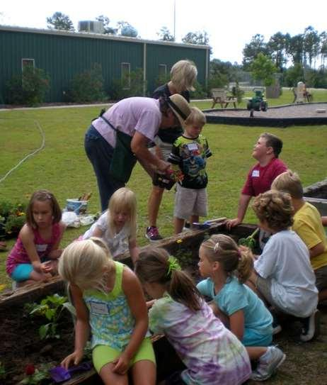 Volunteering: Class Projects Garden by the Month guide for Chatham County Develop and lead