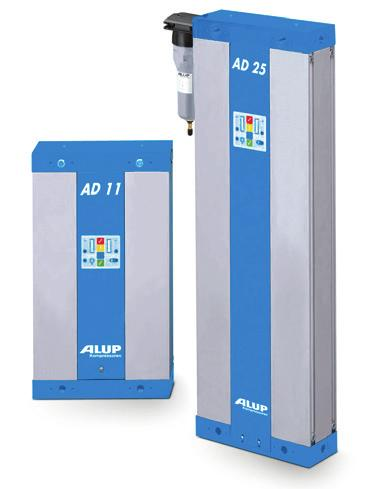 AD Adsorption Dryers: Multiple models, multiple benefits AD 7-60 Technical info AD 7-60 Capacity at 7 bar (-40 C) Dew point Maximum working pressure Working