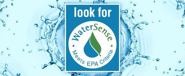Look for the WaterSense Label In 2007, the Environmental Protection Agency (EPA) began a partnership program with the goal of protecting the future of the U.S. water supply by promoting water efficient products and services, under a new program called WaterSense.