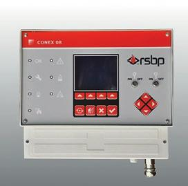 MAIN COMPONENTS OF FIRE SUPPRESSION SYSTEM FIREPRO CONTROL PART EXTINGUISHING PART CONEX The CONEX
