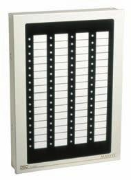 CE Directives (EMC), INCERT (Belgium), ICASA (South Africa), FCC/IC, UL/ULC 32/64 Point Graphic Annunciators PC4632 & PC4664 Egg-crate backplate for flexible LED locations Pre-printed point display