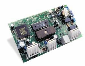 Power Supply/Relay Output/Combus Repeater Module PC4204CX Connect up to 16 modules Fully supervised for AC failure, low battery and AUX failure 4 programmable form C relays: rated at 5 Amps @ 12 VDC
