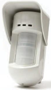 Wireless Outdoor Motion Detector The Wireless Outdoor Detector s robust design incorporates two PIR channels that cross-check their target signals to eliminate false alarms while providing high catch