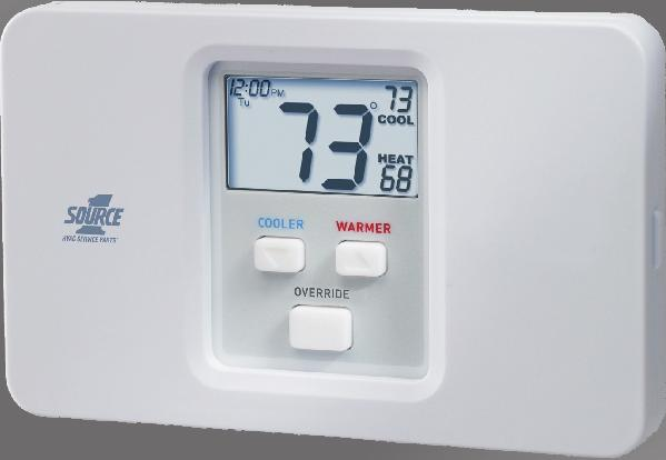 Indicator System Powered Fahrenheit or Celsius Auto-Changeover
