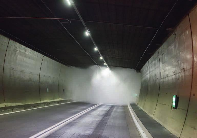 water mist fire fighting system Measuring 14 km in length, the Arlberg tunnel is Austria s longest road tunnel and the longest tunnel in the
