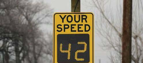 New 45mph speed limit: Minimize i i speeding during off-peak hours Increase safety for motorists & pedestrians