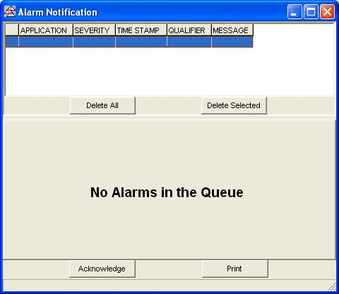 4-1 4 Using Alarm Client Chapter Topics This chapter details how to start Alarm Client and view the alarm notifications.