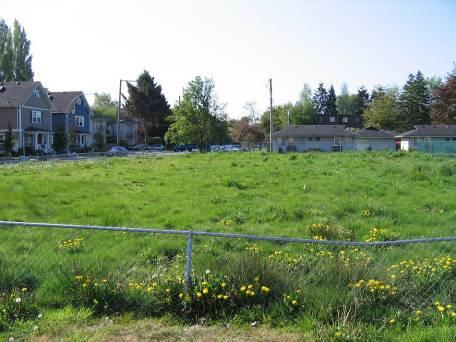 Site prior to