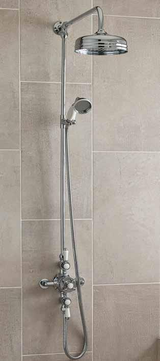 Victorian Concealed and Exposed Thermostatic Showers