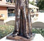 IRON MIKE THE FIRST STATUE EVER PRODUCED IN HONOR OF