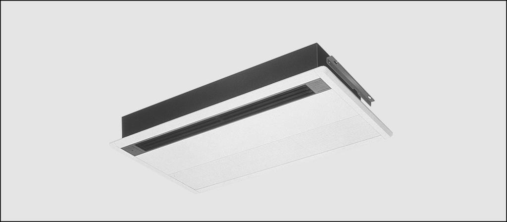 Ceiling Mounted Corner Cassette R-407C FHYKP35-7BV Features + Specially designed for rooms with shallow ceiling voids (unit height: only 2.