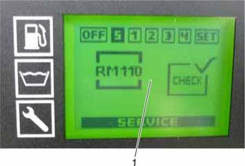 "Example: 30 C is equivalent to the function ""Switch-off after 45 minutes of continuous operation""."