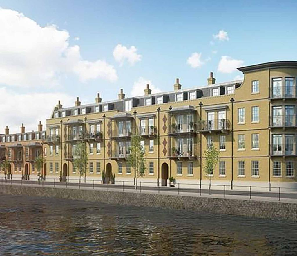 Thameside, Windsor On behalf of Shanly Homes, Iceni Projects helped to obtain planning permission from Royal Borough of Windsor and Maidenhead Council (RBWMC) for the residential development in the