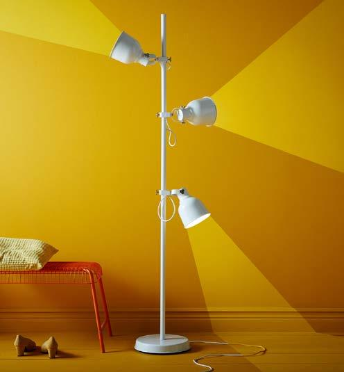 IKEA PRESS KIT / OCTOBER 2016 / 12 PH138570 HEKTAR FLOOR LAMP Let the light shine in all directions with HEKTAR floor lamp.