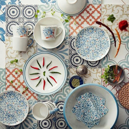 IKEA PRESS KIT / OCTOBER 2016 / 34 PH138664 FINSTILT DINNNERWARE The new FINSTILT dinnerware collection finds itself inspired by Swedish heritage motifs in a unique mix of patterns, as the designer